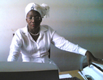 Doris Kuwornu in her office
